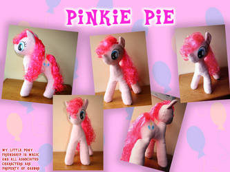 Pinkie Pie by Jackiekie