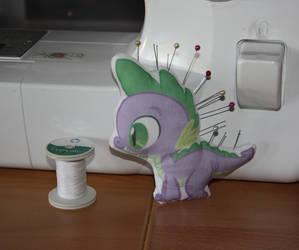 Spike, my new helper by Jackiekie