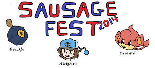 Sausage Fest 2014 by PokeGuitartist