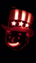 Tricentennial Vault Boy Jack-o'-lantern by PhaserRave