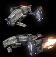 spaceship by coronagalvez19