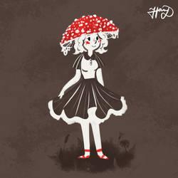 Lady Fungi by DucktorHannah