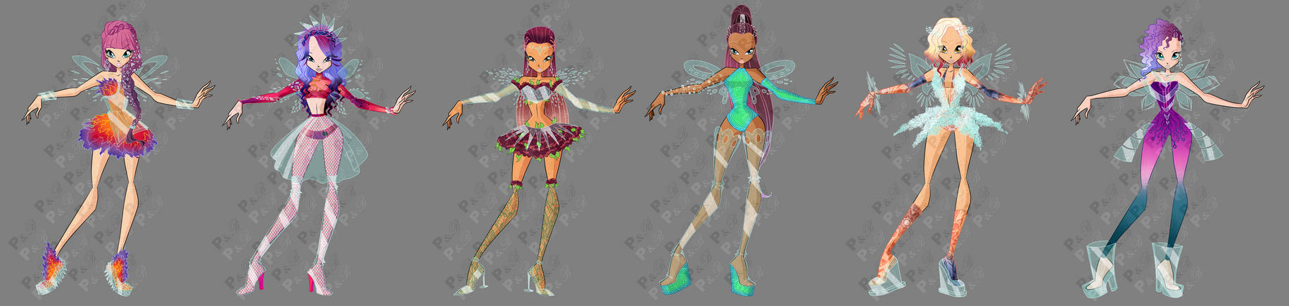 Winx Glassix transformation- Concept art (+story) by ...