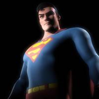 Superman Render Shot 1 by supermanorigins