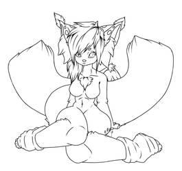 F2U Fluffy Furry Girl by SunrysPilot