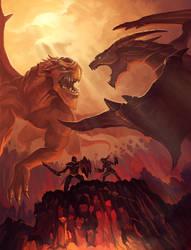 Dragon Duel by jasonwang7
