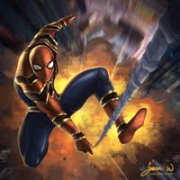 Infinity War - Spiderman by jasonwang7