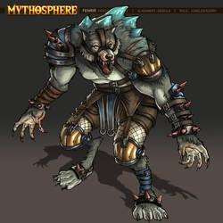 Mythosphere - Fenrir by jasonwang7