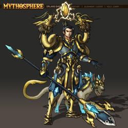 Mythosphere - Erlang Shen by jasonwang7