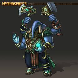 Mythosphere - Ganesha by jasonwang7
