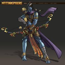 Mythosphere - Rama by jasonwang7
