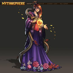Mythosphere - Amaterasu by jasonwang7