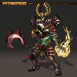 Mythosphere - Osiris by jasonwang7