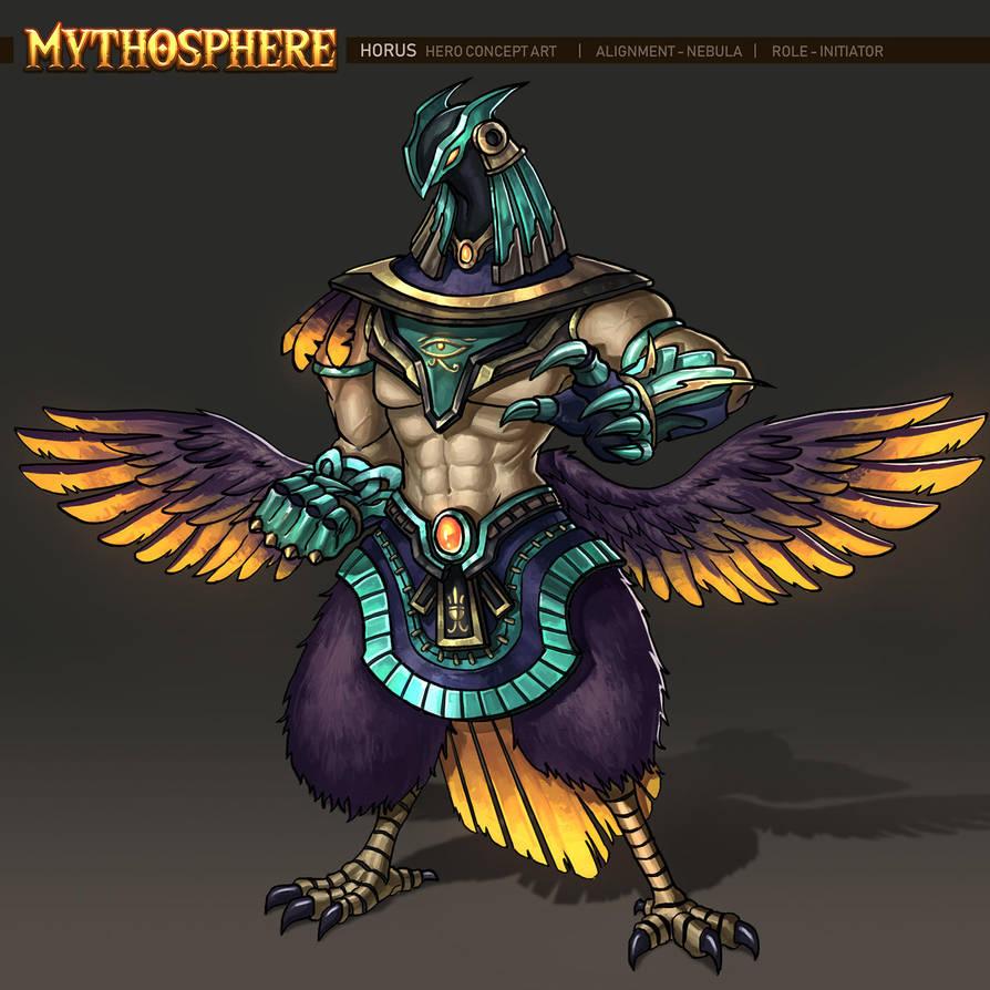 Mythosphere - Horus by jasonwang7