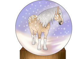Merry Christmsa, SagaWolf by ValiantShadow