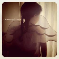 My Angel by Kimberly-Barfield