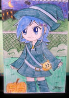 Little Witch Xerene by JTrexe