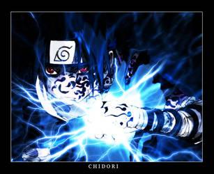 Naruto CG - Sasuke Chidori by DemonSlice