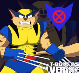 SWAT Kats as X-Men: T-Bone as Wolverine by coDDRy