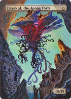 Emrakul, the Aeons Torn by MimiMunster