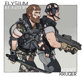 Agent Kruger by thdark