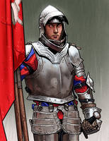 Study of Knight by thdark