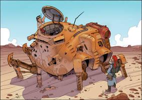 Desert Scavengers by thdark