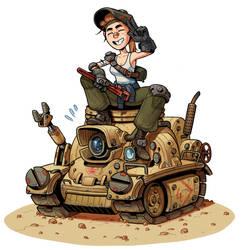 Tank Mechanic by thdark
