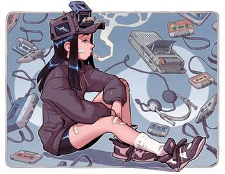 Fan-Art: Dondorororo's Cassette Girl by thdark