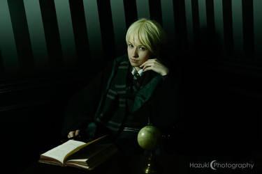Slytherin - Draco Malfoy by pearl-nacree