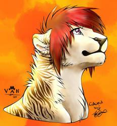 Toryu Lion Color Scheme - Danni-minoptra by Kaykyo