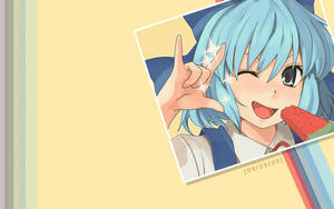 It's Cirno Day - Wallpaper by Aeryn-Seoung