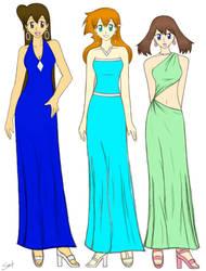 League Prom Dresses_color ver. by BklynSharkExpert