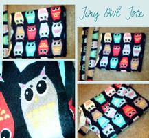 Owl Tote by Jazeki