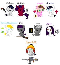 Firefly Pony Babies by Pony-Paradice