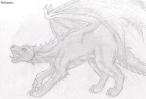 Dragon's Rage by meroaw