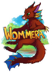 Wommera Badge by meroaw