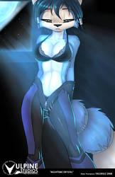 Nighttime Krystal by tailsrulz