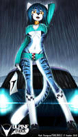 Racing Stripes -Felicia by tailsrulz