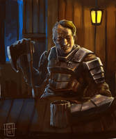Tavern Thug by SirIce