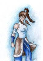 New Avatar Korra by Xpuk