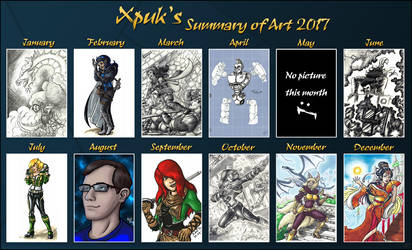 Summary of art 2017 by Xpuk