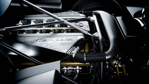 Pagani Zonda Engine Bay by DistortedImagery