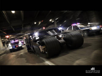 TheDarkNightRises Tumbler Chase by DistortedImagery