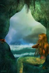 The Dreamer Mermaid by emmaalvarez