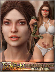EJ Juncal Deluxe Pack for Genesis 8 Female by emmaalvarez
