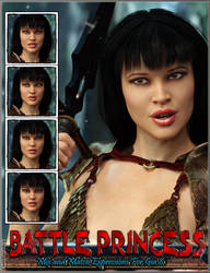 Battle Princess Mix and Match Expressions For Gia8 by emmaalvarez