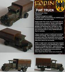 War On Pi - FOPIN Fiat Truck by wojti2000