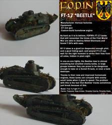 War On Pi - FOPIN FT-17 Beetle Tank by wojti2000