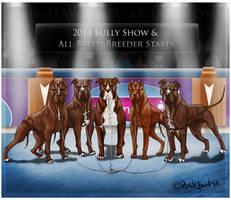 Bully Show Breeders Stakes xx LOKI x BETH by reinafawn